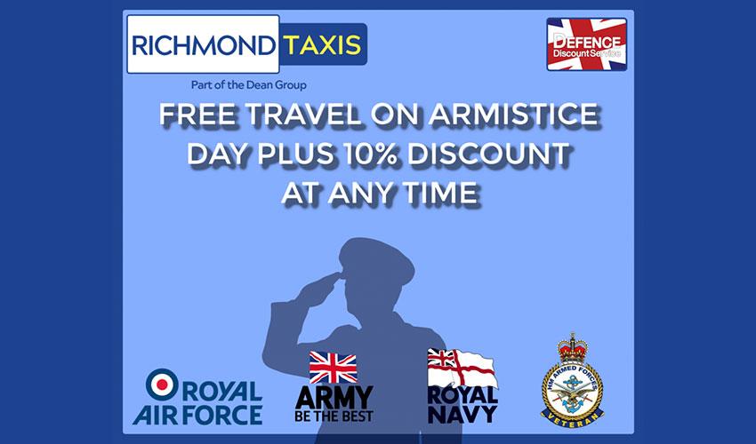 Free travel on armistice day
