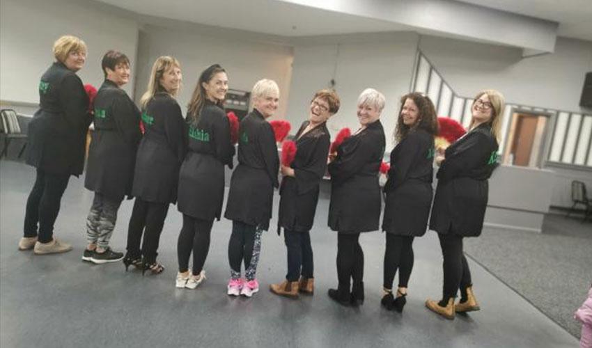 South Shields MacMillan charity fundraiser group