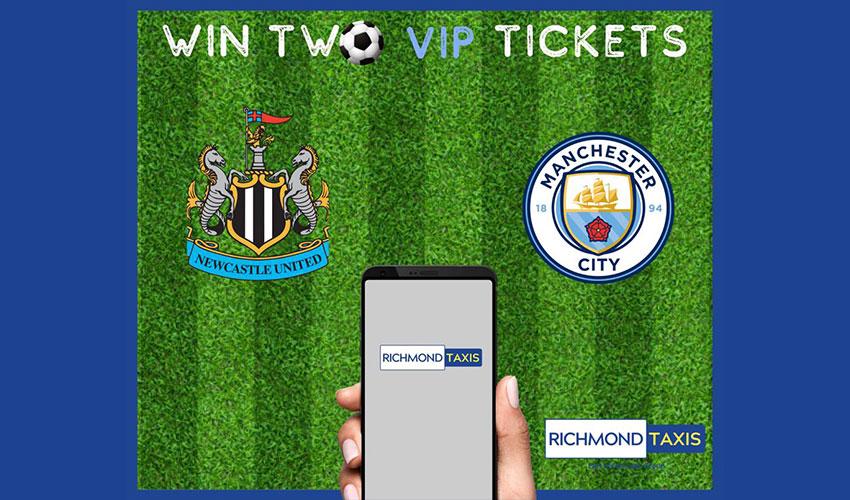 win 2 vip tickets Manchester United vs Newcastle football